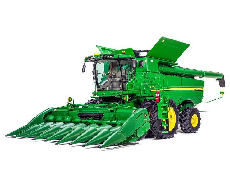 Nova linha de colheitadeiras John Deere série 700