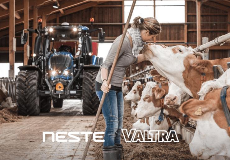 Um novo tipo de diesel para os tratores da Valtra