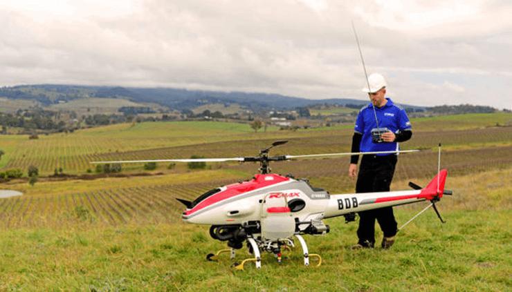 R-MAX, o super drone com funções agrícolas da Yamaha