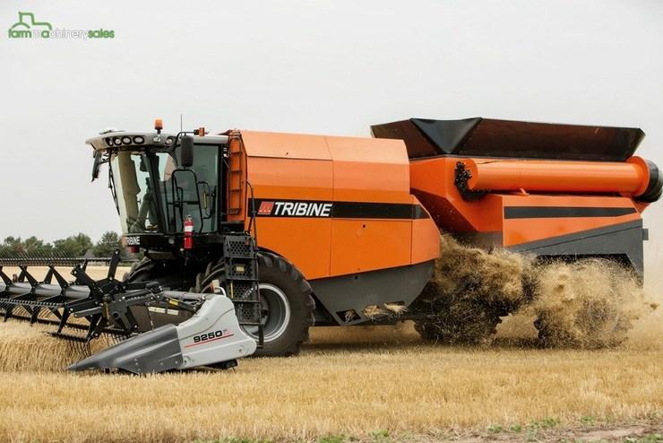 Colheitadeira Tribine – novo vídeo de uma das maiores colheitadeiras do mundo, à venda em 2017