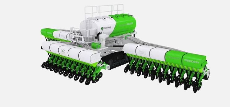CX-6 Smart Seeder ganha patente nos EUA