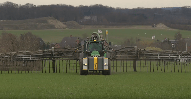 Esterco líquido acidificado: tecnologia da Dinamarca