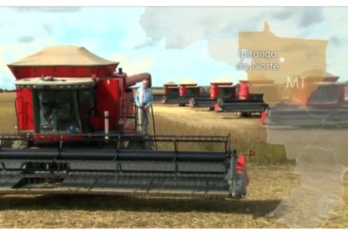 Globo Rural mostra a colheita de soja no Mato Grosso