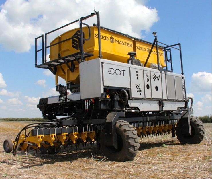 Seed Master DOT, a plantadeira robô