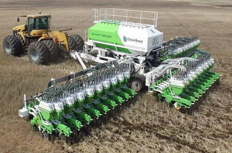 CX-6 Smart Seeder, a melhor plantadeira do mundo