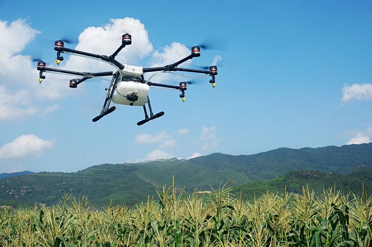 DJI Agras Mg-1, um drone para uso na agricultura