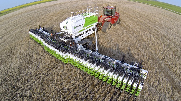 CX-6 Smart Seeder, a plantadeira canadense que deseja ser a mais inteligente do mundo