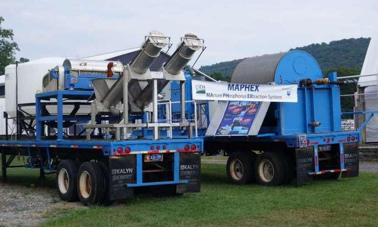 Máquina que retira fósforo do esterco é patenteada nos EUA