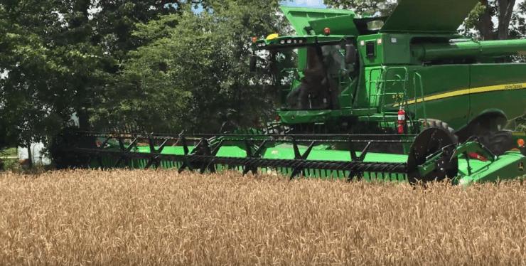 Nova John Deere s770 2018 em uma série de vídeos NA LIDA