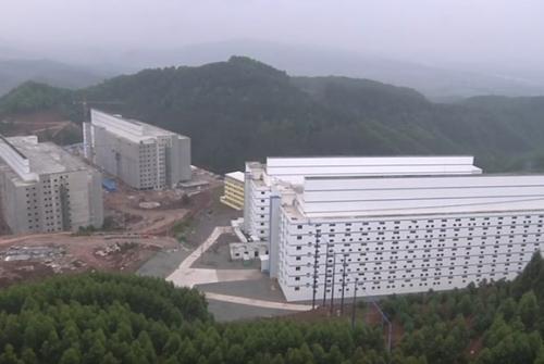 As pocilgas gigantes da China