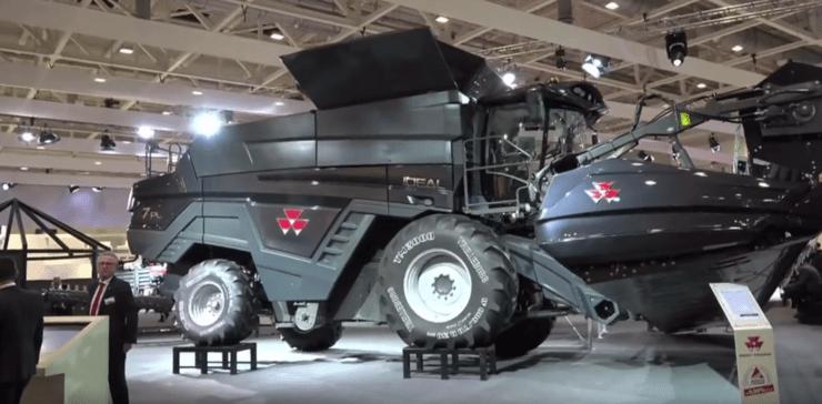 Massey Ferguson Ideal na Agritechnica 2017