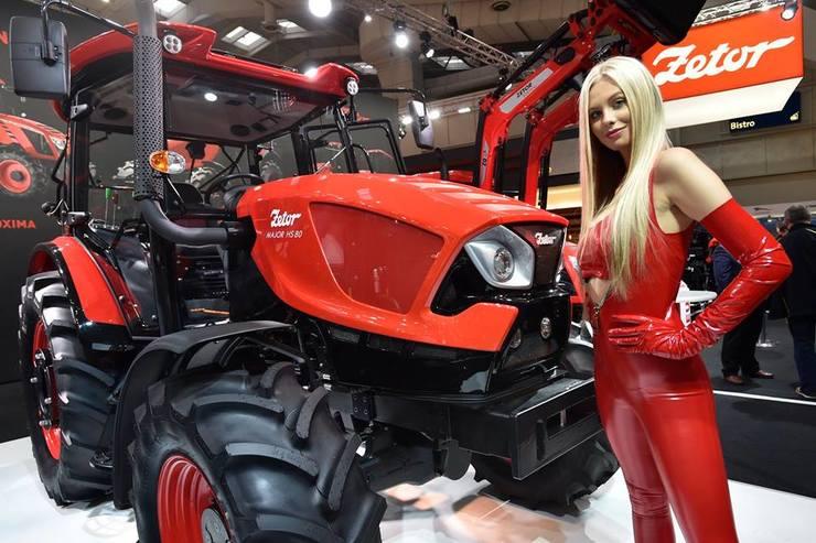 A Zetor chegou em grande estilo na Agritechnica 2017