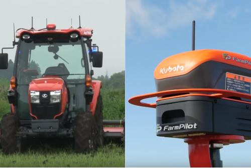Agri Robo, o trator autônomo da Kubota