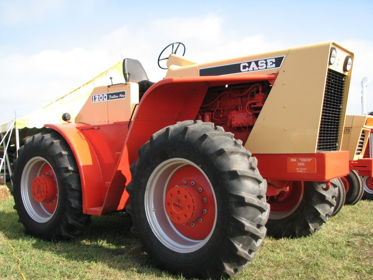 JI Case Tractor King