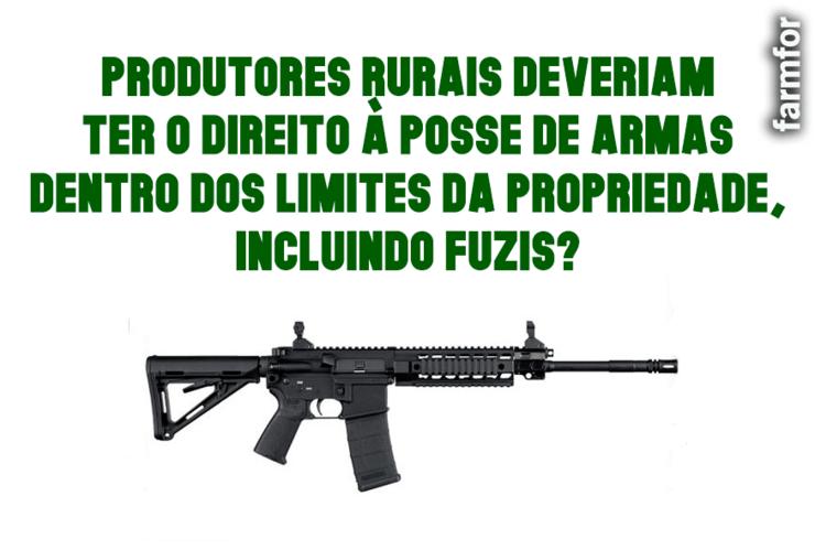 posse de arma