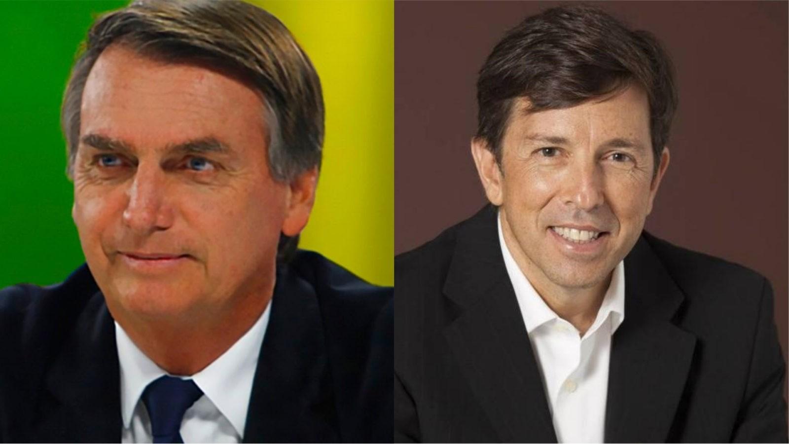 Bolsonaro ultrapassa Amoêdo