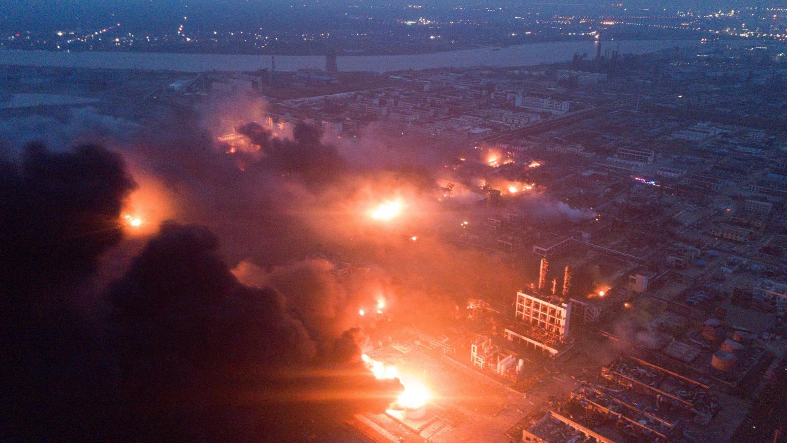 explode na china