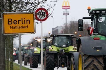 agricultores cercam berlim