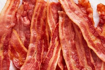Estados unidos tem 18 mil toneladas de bacon